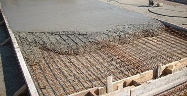 заливка бетоном м 250 монолитного фундамента